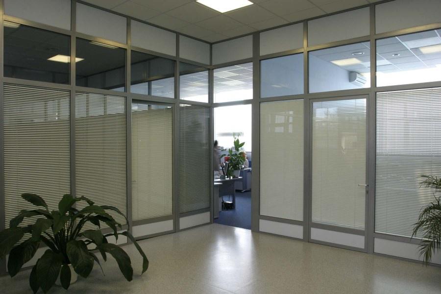Офисные перегородки из алюминиевого профиля своими руками
